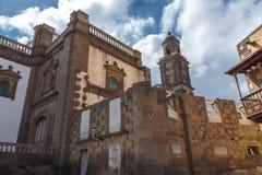 Cathedral of Santa Ana. Las Palmas de Gran Canaria. The Canary Islands. Spain Royalty Free Stock Photo
