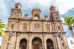 Cathedral of Santa Ana - Las Palmas, Gran Canaria Royalty Free Stock Photos