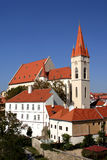 Cathedral of Santa Claus - Znojmo stock photos