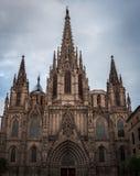 Cathedral Santa Creu. In Barcelona Stock Photography