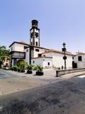 Cathedral in Santa Cruz de Tenerife Royalty Free Stock Images