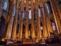 Cathedral of Santa Eulalia Royalty Free Stock Photo