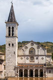 Spoleto Cathedral Stock Photography