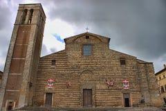Cathedral of Santa Maria Assunta in Montepulciano Stock Photography