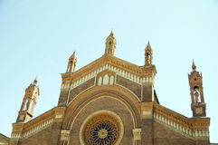 Cathedral santa maria del carmine Milan Italy Stock Photo