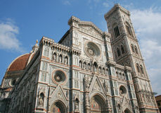 Cathedral of Santa maria del fiore. In Florence stock photo