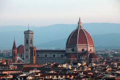 Cathedral Santa Maria del Fiore Stock Photo