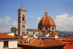 Cathedral of Santa Maria del Fiore (Duomo) in Florence. Royalty Free Stock Photography