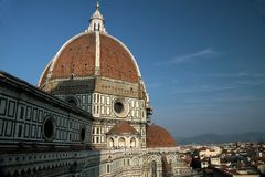 Cathedral Santa Maria del Fiore in Florence Stock Photos