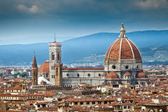 Cathedral Santa Maria del Fiore in Florence Stock Photography