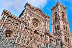 Cathedral santa maria del fiore in florence italy Stock Photography