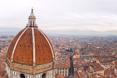 Cathedral Santa Maria del Fiore in Florence, Italy Royalty Free Stock Photography