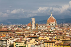 Cathedral Santa Maria del Fiore in Florence Stock Photo