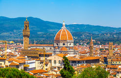 Cathedral of Santa Maria del Fiore. Florence. Italy Stock Photography