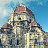 Cathedral of Santa Maria del Fiore, Florence, Italy. Royalty Free Stock Photo