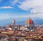 Cathedral Santa Maria del Fiore. Cathedral of Santa Maria del Fiore, Florence, Italy Royalty Free Stock Photos