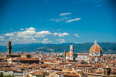 Cathedral of Santa Maria del Fiore in Florence Stock Images