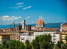 Cathedral of Santa Maria del Fiore in Florence Stock Image