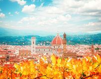 Cathedral  Santa Maria del Fiore, Florence, Italy Royalty Free Stock Photos
