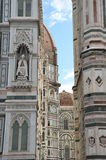 Cathedral of Santa Maria del Fiore, Florence, Italy. Detailed view of the Cathedral of Santa Maria del Fiore, Florence, Italy Royalty Free Stock Photo
