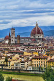 Cathedral Santa Maria del Fiore in Florence, Italy. Royalty Free Stock Photo