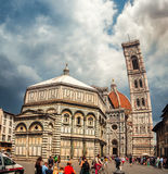 Cathedral Santa Maria del Fiore in Florence Stock Image