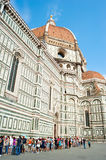 Cathedral Santa Maria del Fiore in Florence Stock Images