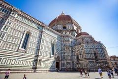 Cathedral Santa Maria del Fiore Florence Stock Image