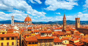 Cathedral santa maria del fiore florence view Royalty Free Stock Photography