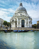 Cathedral Santa Maria della Salute, Venice Royalty Free Stock Photos