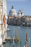 Cathedral Santa Maria della Salute in Venice Stock Photos