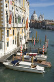 Cathedral Santa Maria della Salute in Venice Stock Photography