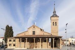 Cathedral of Santa Maria in Guadalajara, Spain Royalty Free Stock Image