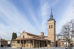 Cathedral of Santa Maria in Guadalajara, Spain Royalty Free Stock Photography