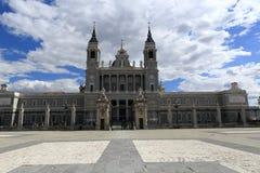 The Cathedral of Santa Maria la Real de la Almudena, Madrid, Spain Royalty Free Stock Photos