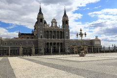 The Cathedral of Santa Maria la Real de la Almudena, Madrid, Spain Royalty Free Stock Photos