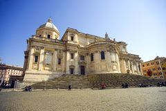 The Cathedral of Santa Maria Maggiore, Rome baroque Royalty Free Stock Photography