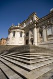The Cathedral of Santa Maria Maggiore, Rome baroque Royalty Free Stock Images