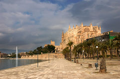 Cathedral of Santa Maria of Palma, Royalty Free Stock Photos
