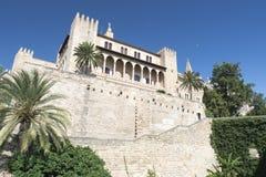 The Cathedral of Santa Maria, Palma de Mallorca Stock Images