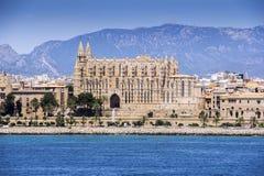 Cathedral Santa Maria of Palma de Mallorca Stock Photography