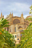 Cathedral of Santa Maria of Palma de Mallorca, La Seu, Spain Royalty Free Stock Photography