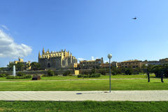 The Cathedral of Santa Maria of Palma de Mallorca, Royalty Free Stock Photo