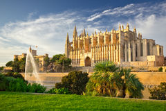 The Cathedral of Santa Maria of Palma de Mallorca, La Seu Royalty Free Stock Photography