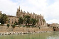 Cathedral of Santa Maria of Palma Royalty Free Stock Images