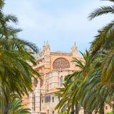 The Cathedral of Santa Maria of Palma Stock Images