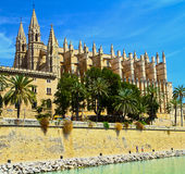 The Cathedral of Santa Maria of Palma Royalty Free Stock Image