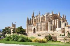 The Cathedral of Santa Maria of Palma and Parc del Mar, Majorca Stock Photo
