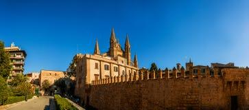 Cathedral of Santa Maria of Palma, Spain Royalty Free Stock Photo