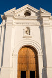 Cathedral of Santa Marta, Colombia Royalty Free Stock Image